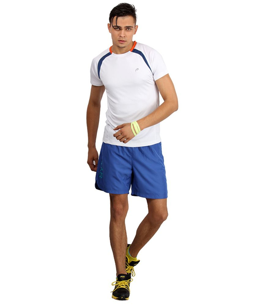 Proline Active White Polyester T-shirt