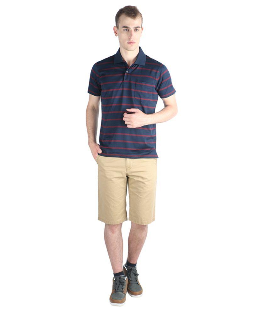 Proline Colours Navy Polo T-shirt