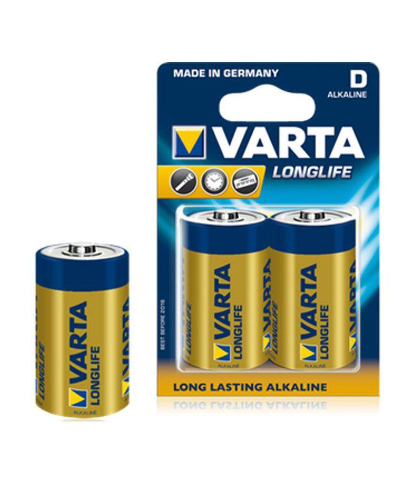 varta 2d 1 5 v alkaline battery price in india buy varta. Black Bedroom Furniture Sets. Home Design Ideas