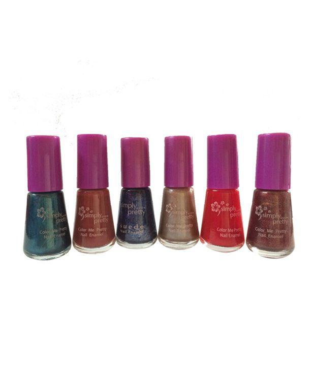 Avon Nail Paint- Set Of 6: Buy Avon Nail Paint- Set Of 6 at Best ...