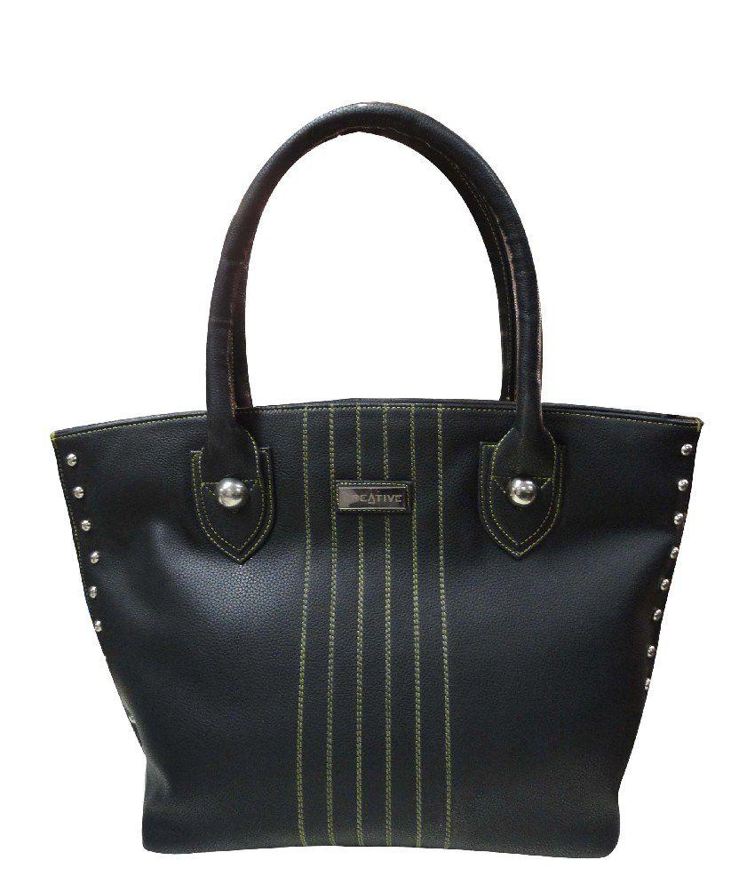 Kreative Black Women Shoulder Bag