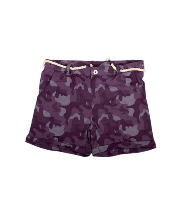 Fiore Jinny Purple Shorts