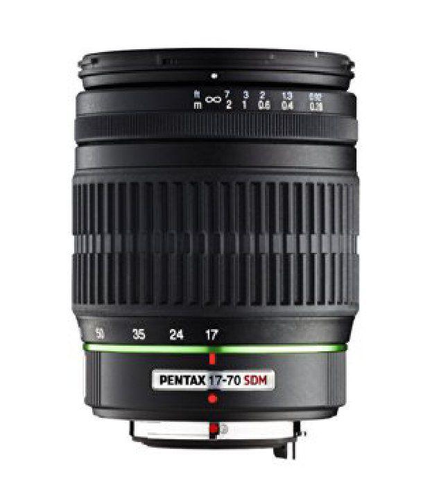 Pentax 17-70mm F/4 Da Smc Al If Sdm Lens For Pentax Digital Slr Cameras