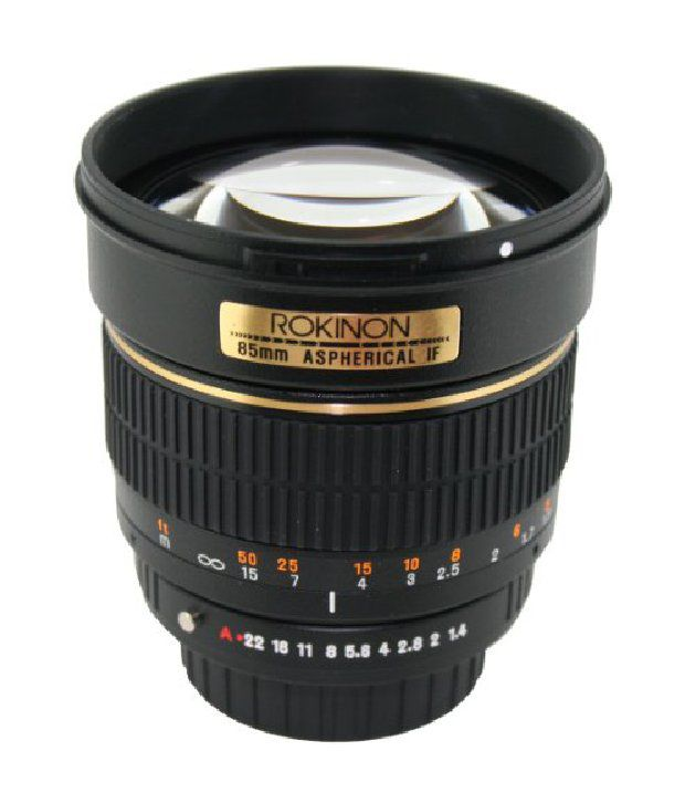 Rokinon 85m-o 85mm F1.4 Aspherical Lens For Olympus (black)