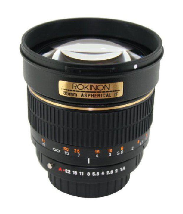 Rokinon 85m-p 85mm F1.4 Aspherical Lens For Pentax (black)