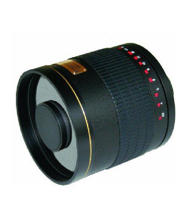 Rokinon Ed500m-b-eos 500mm F6.3 Mirror Lens For Canon Eos (black)