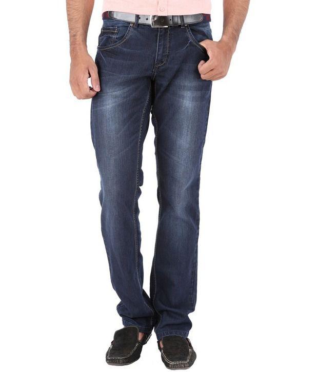 Trigger Blue Cotton Jeans