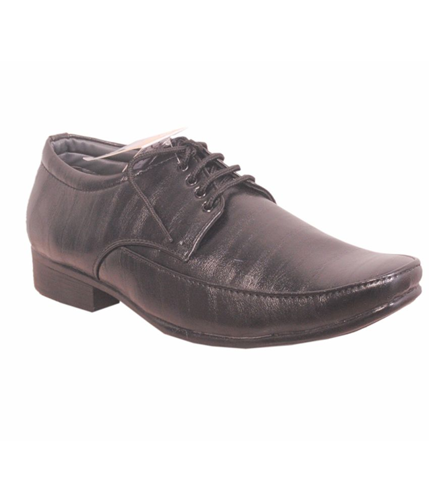Advanced Derby Genuine Leather Black Formal Shoes clearance 100% original outlet footlocker footaction online latest for sale where can i order 4VzyT