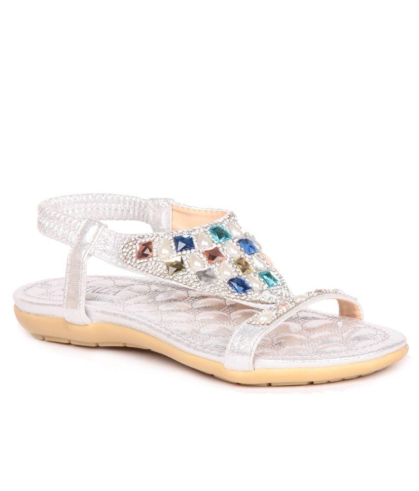 Feel It Silver Sandal