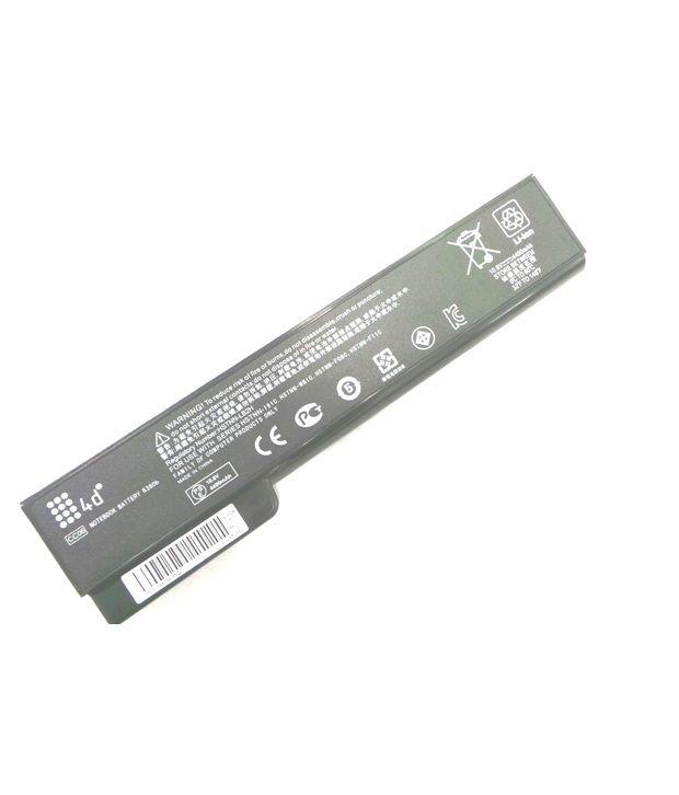 4d Hp Elitebook 6565b 6 Cell Laptop Battery