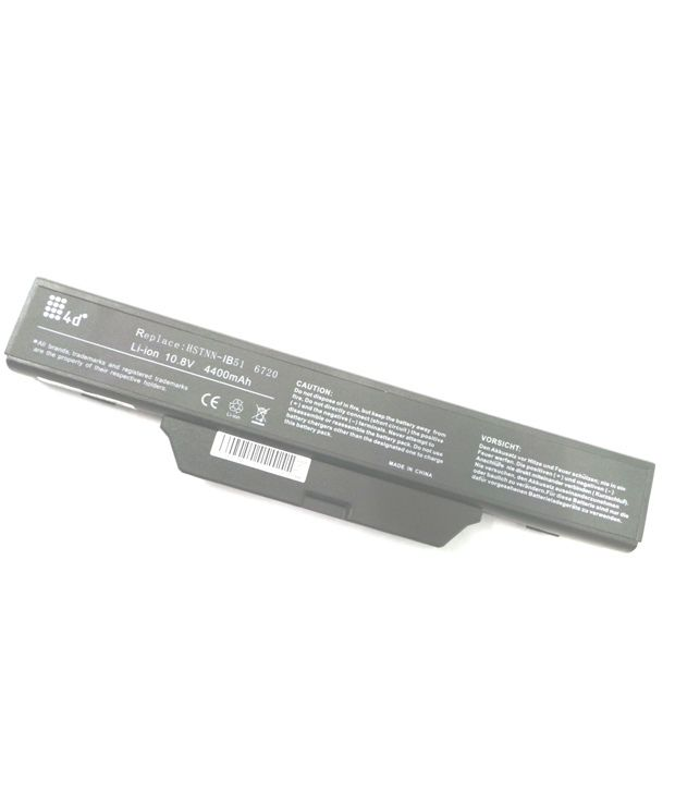 4d Hp Hstnn-iboc 6 Cell Laptop Battery