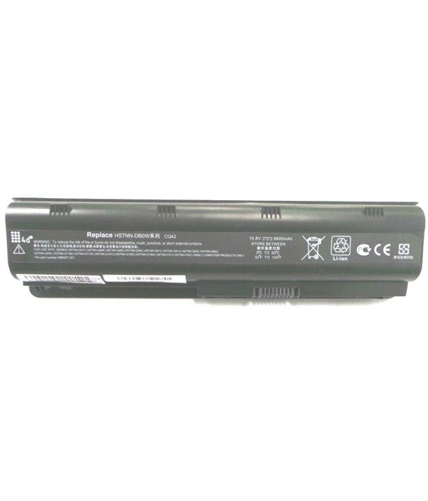 4d Hp Presario Cq42-167tu 9 Cell Laptop Battery