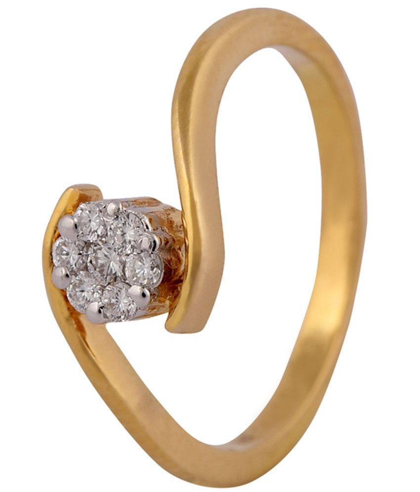 HR Jewels VVS - FG  Certified  Beautiful Ring