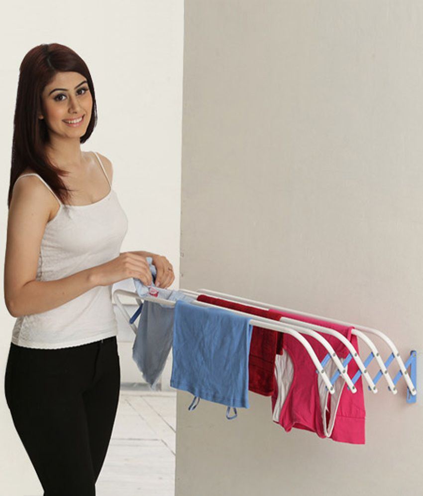 Small Clothes Dryer ~ Bonita wonderwall clothes dryer small blue colour buy