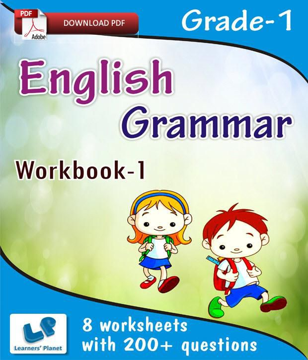 Grade 1 english grammar book