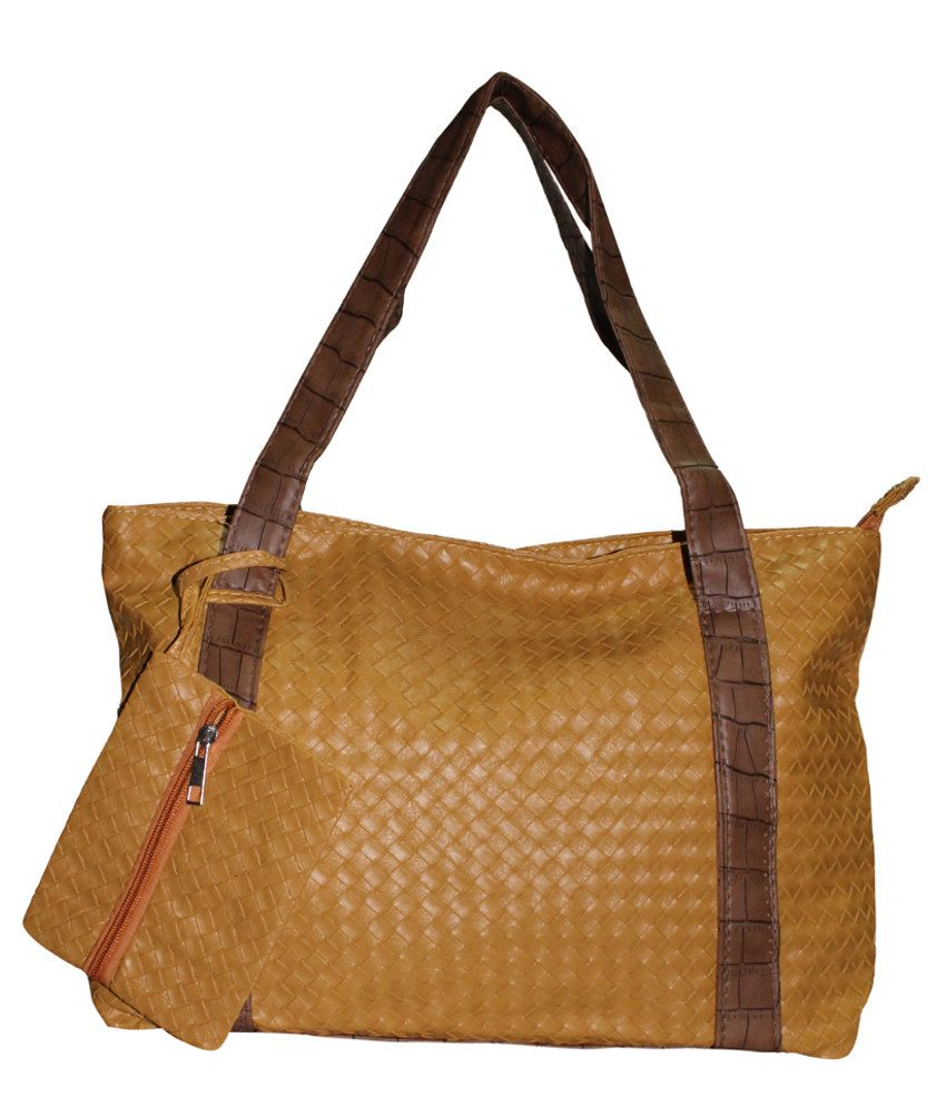Moda Desire SP1139 Tan Shoulder Bags