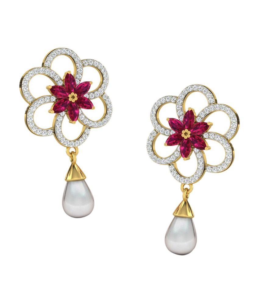Sparkles 18kt Impressive Drop Earrings