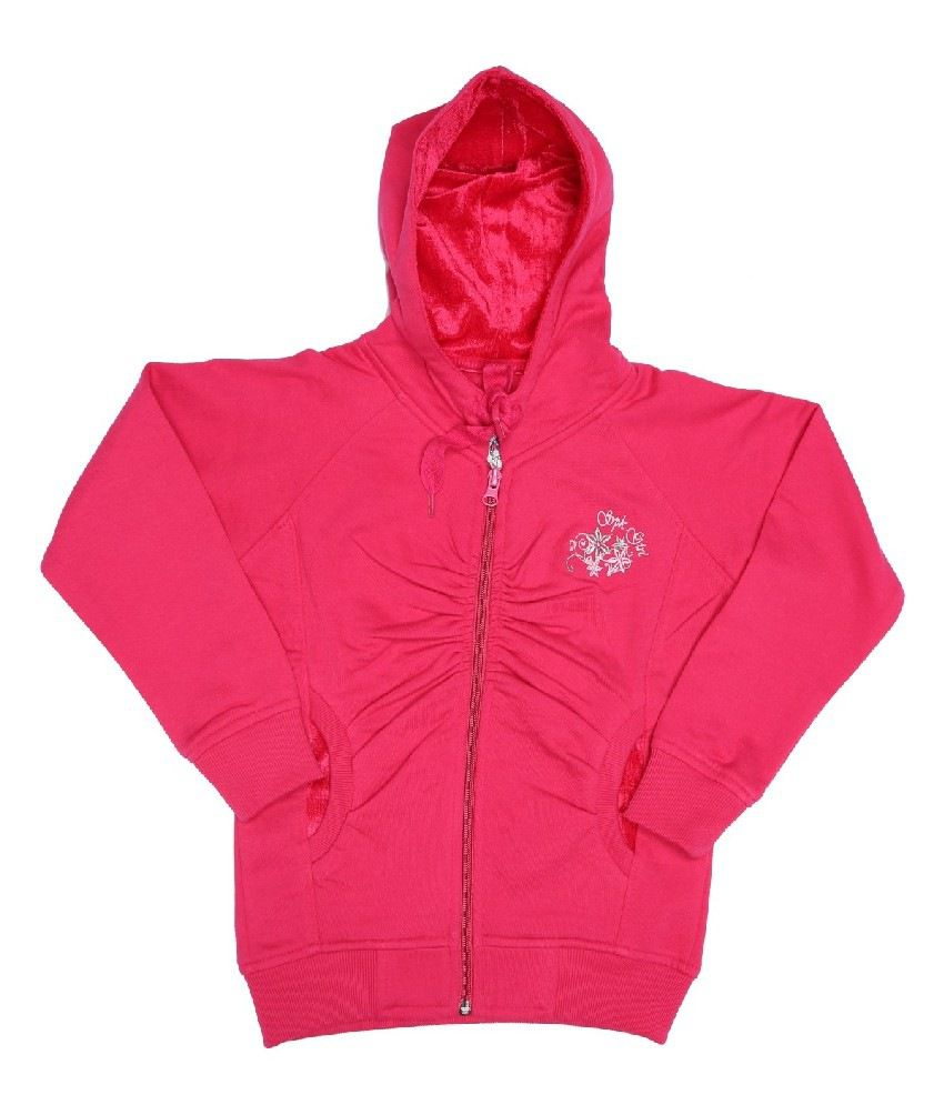 Sportking Fuschia Sweatshirt For Girls