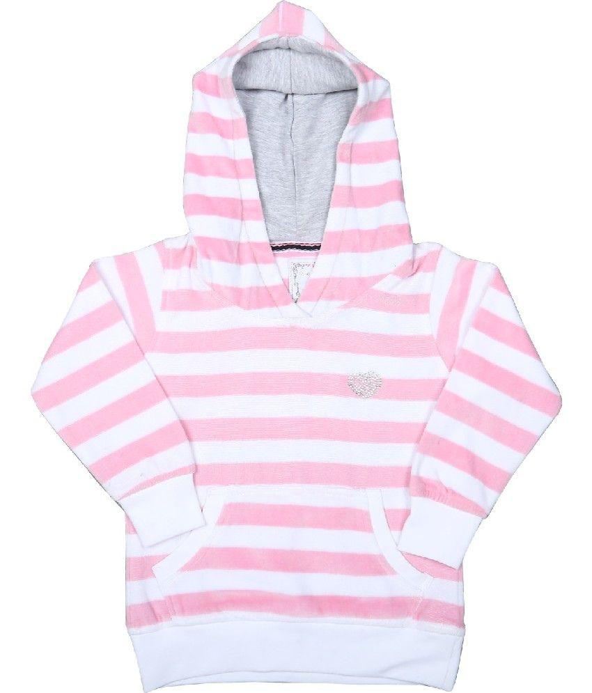 Sportking Pink Sweatshirt For Girls
