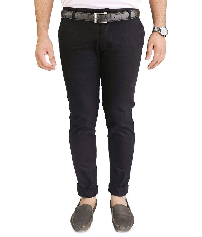 Blimey Black Slim Semi Formals