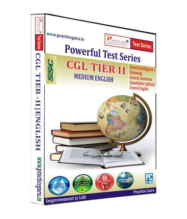 CGL Tier II  - English (Practice Guru Test Prep CD - 85 Topic Wise Tests + 5 Mock Papers)
