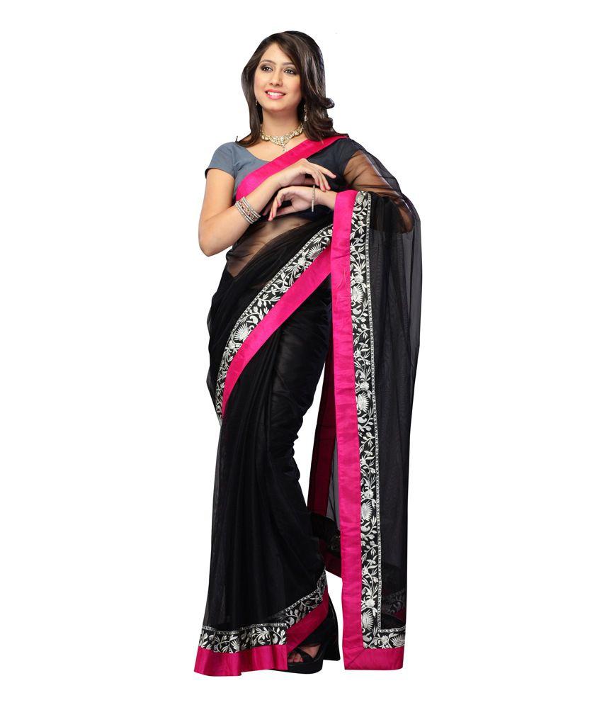 Royal N Rich Multi Color Net Saree