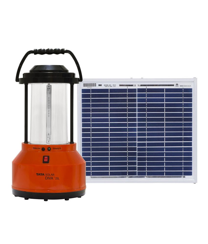 Tata Solar Diva 25L Solar Lantern Emergency Light