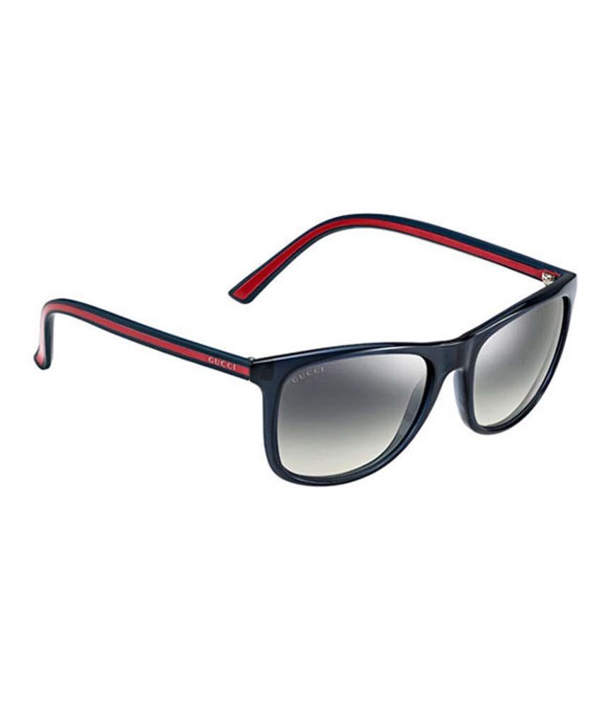 Gucci Round Non Metal Wayfarer Sunglasses