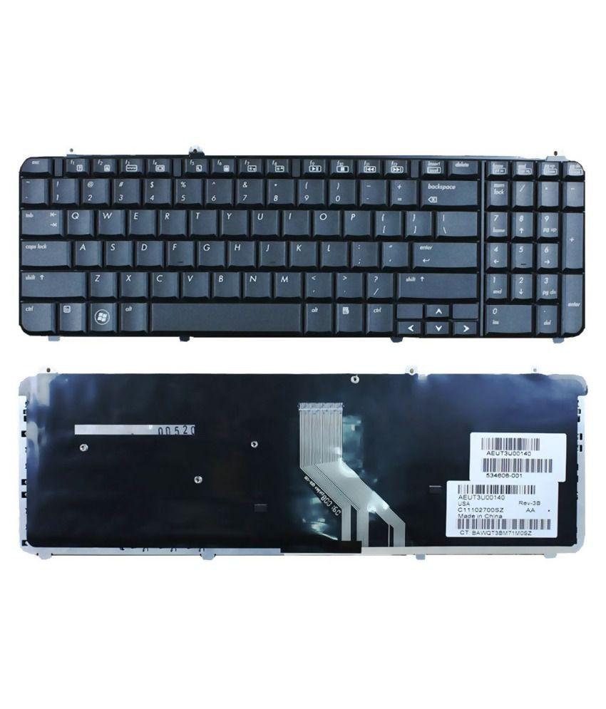 Lap Gadgets HP Pavilion dv6-1335tx Laptop Keyboard with Free Keyboard protector Skin