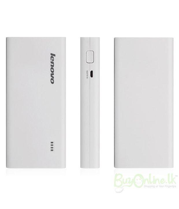 Lenovo Pa10400 10400mah Power Bank White Power Banks Online At Low