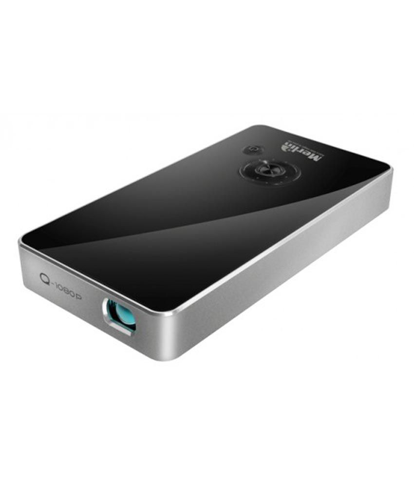 Buy merlin pocket size micro projector online at best for Best wireless mini projector