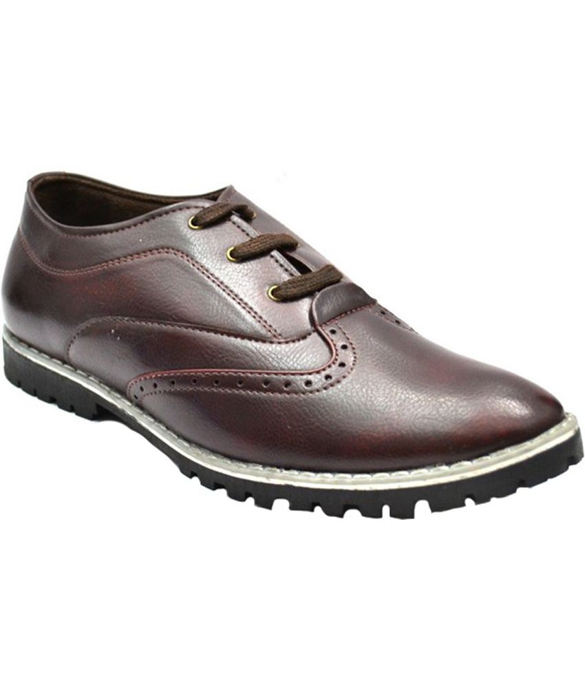 Zoot24 Maroon Formal Shoes