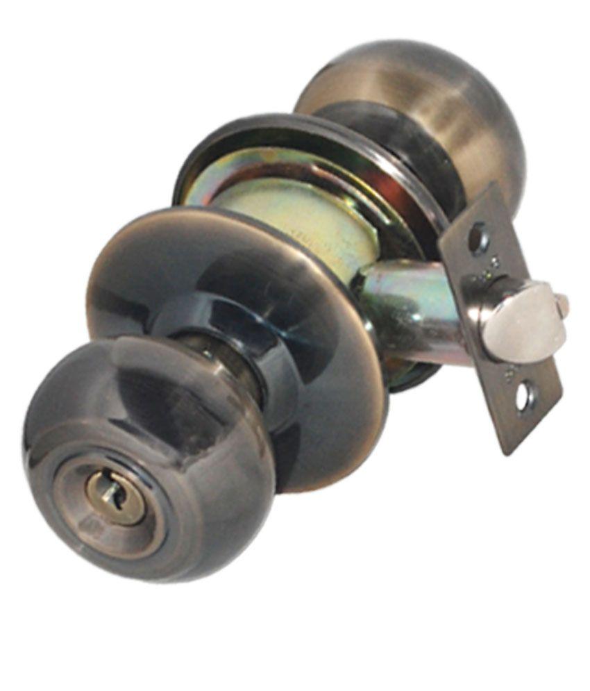 Buy Sheel Cylindrical Door Lock With Knob 777 Privacy