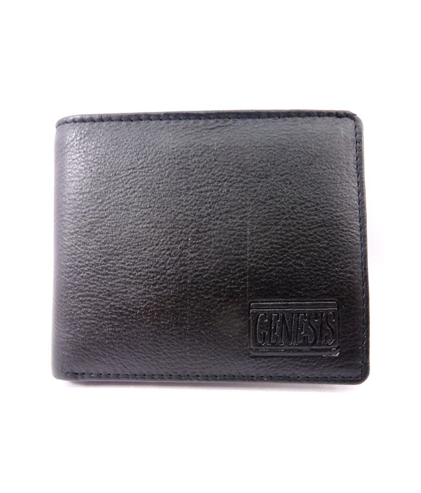 Mens Gents Pure Leather Wallet Purse Money Bag Credit Card Holder