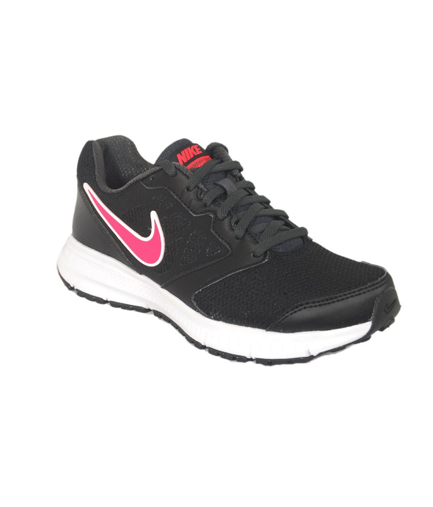 e869c8d0185 Nike Downshifter 6 Msl Black Running Shoes Price in India- Buy Nike  Downshifter 6 Msl Black Running Shoes Online at Snapdeal