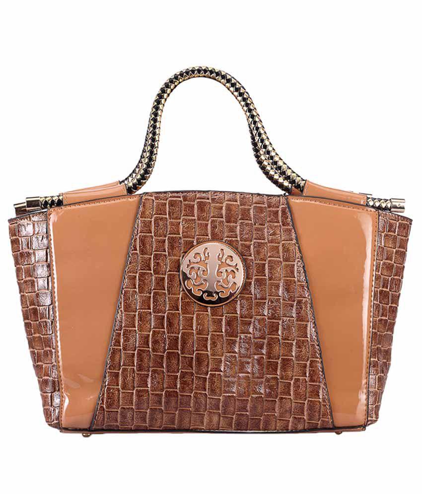 Bags Craze BC-ONLB-383 Beige Shoulder Bags