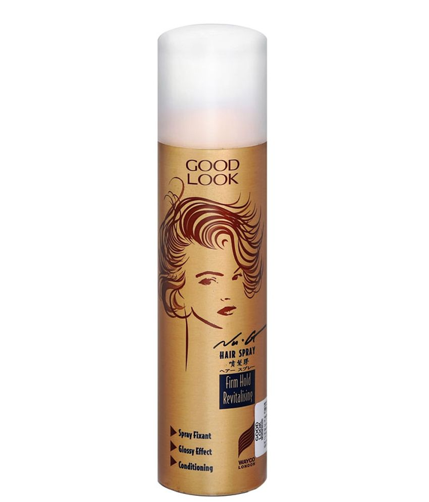 Goodlook Hair Spray Gold