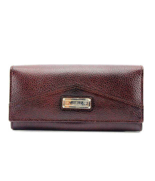 Plasto Art Brown Women's Formal Wallet (380)
