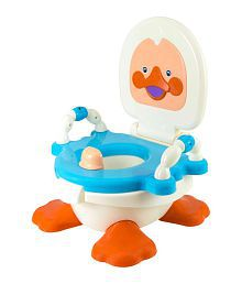 Panda Duck Potty Seat For Kids- Blue