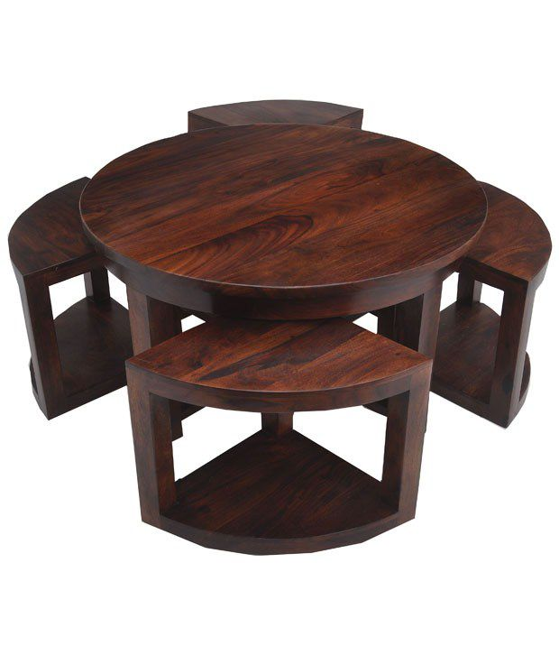 Nesting Coffee Table In Brown Snapdeal Price Tables Deals At Snapdeal Nesting Coffee Table In