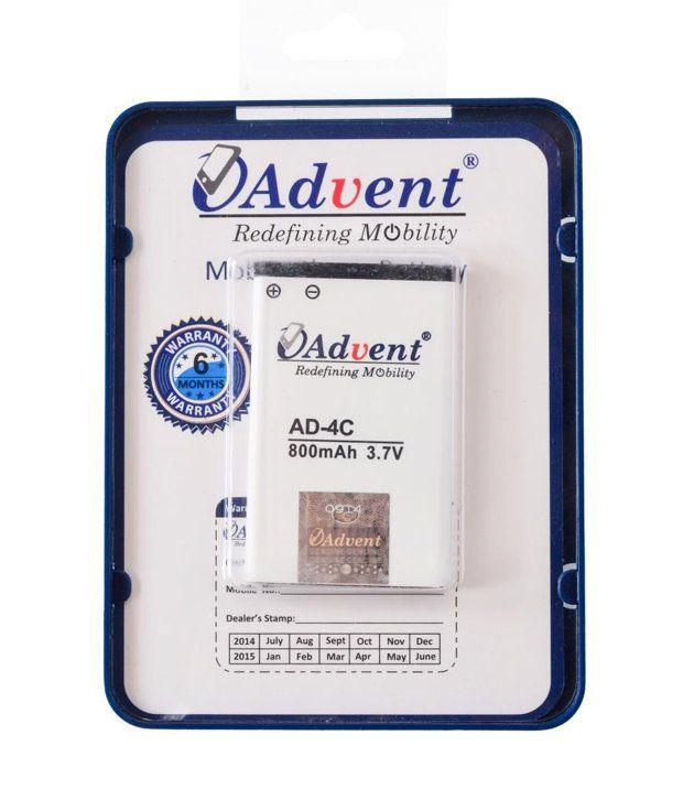 advent ad 4c mobile battery batteries online at low. Black Bedroom Furniture Sets. Home Design Ideas