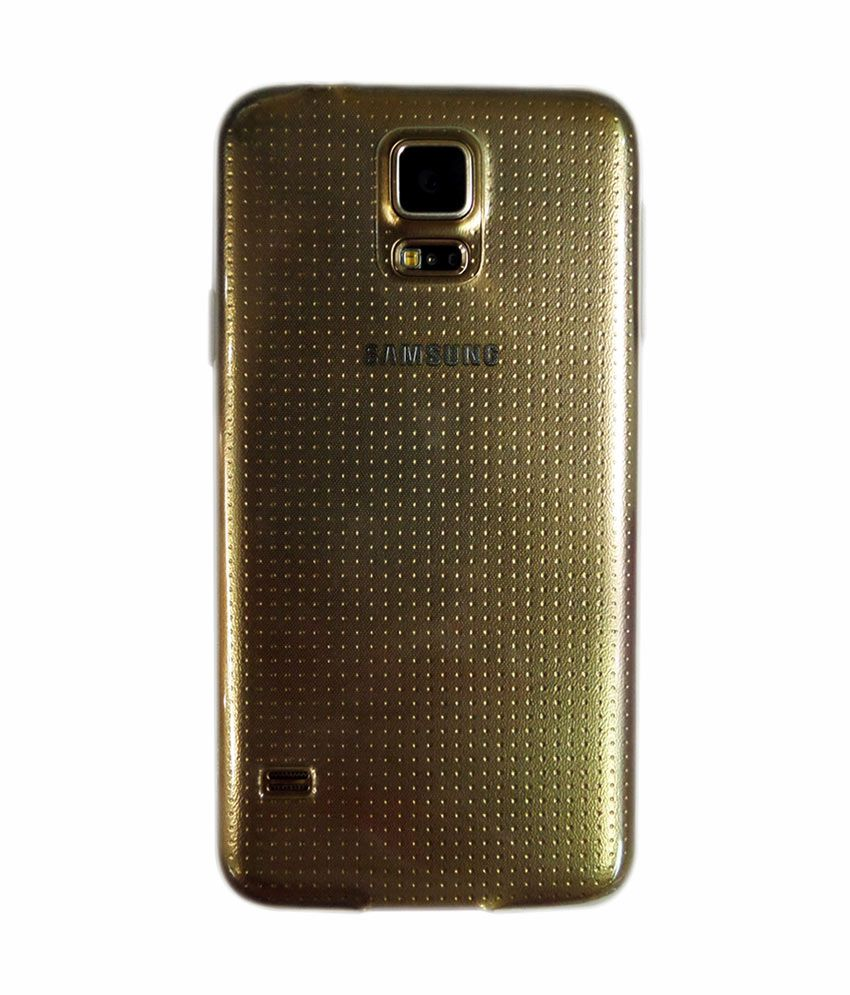 best cheap b3d9a 6ba19 Envy. Back Cover Cases For Samsung Galaxy S5 Mini - Golden