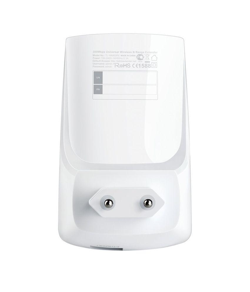 Tp Link Tl Wa850re 300 Mbps Universal Wifi Range Extender Booster
