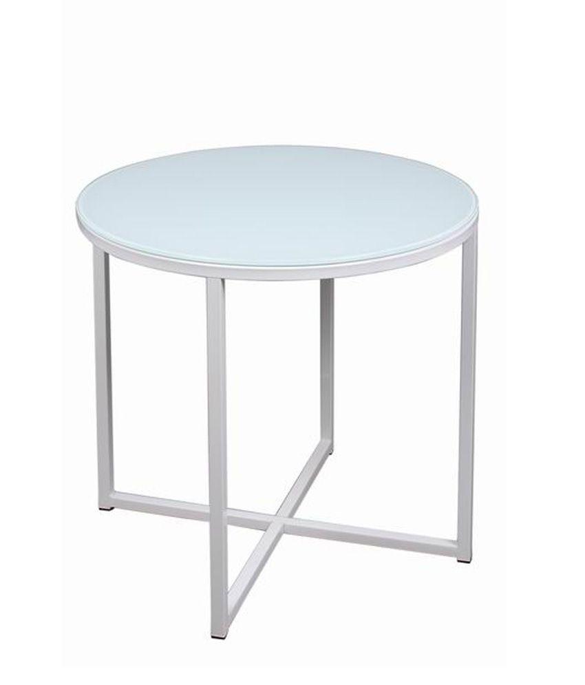 Tezerac End Table Gina - White