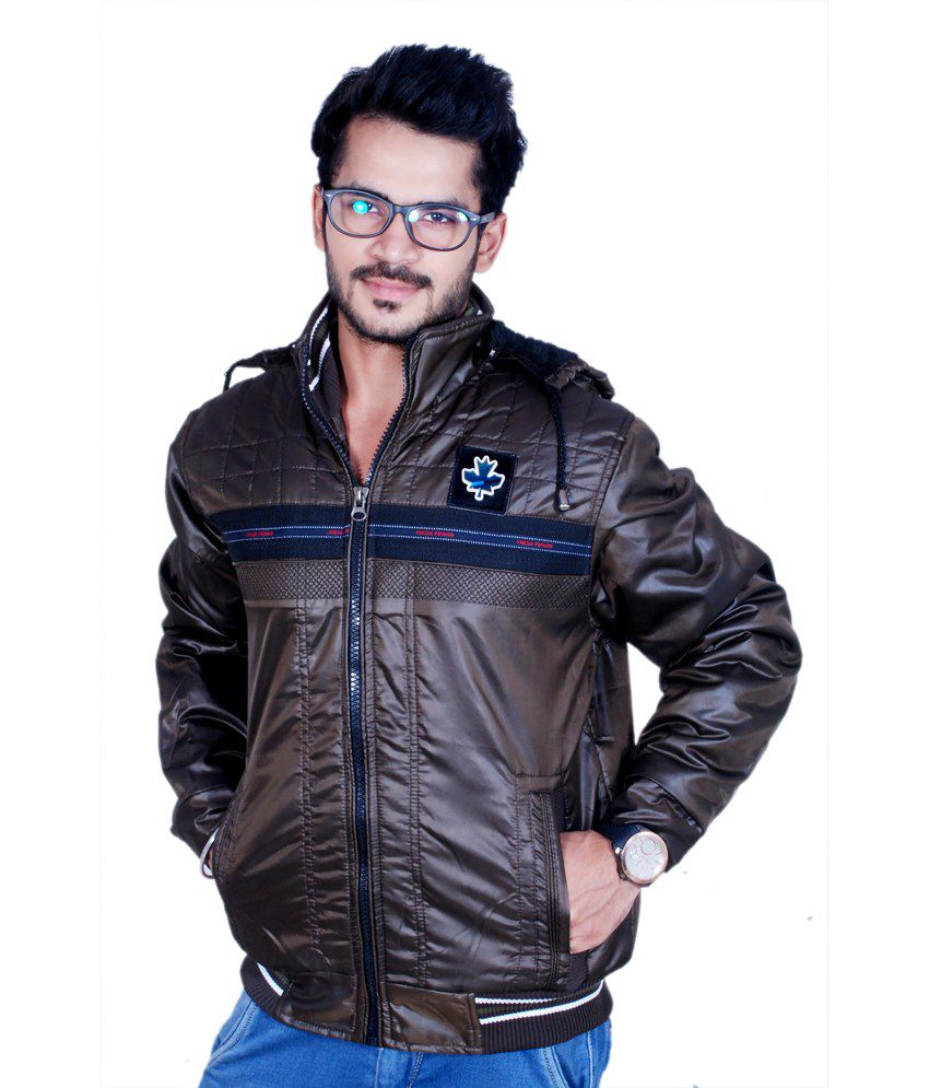0fcc245688 Winter Fuel Sparky Brown Men's Jacket - Buy Winter Fuel Sparky Brown Men's  Jacket Online at Best Prices in India on Snapdeal