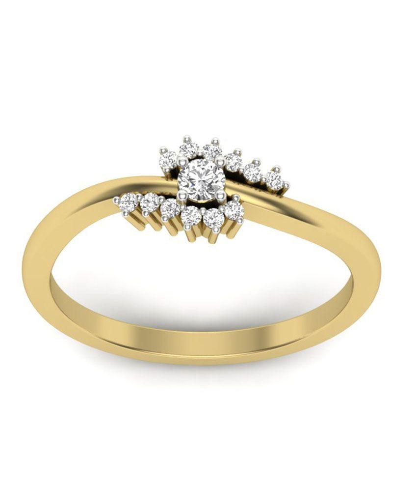 Jacknjewel Blooming Center Diamond Ring