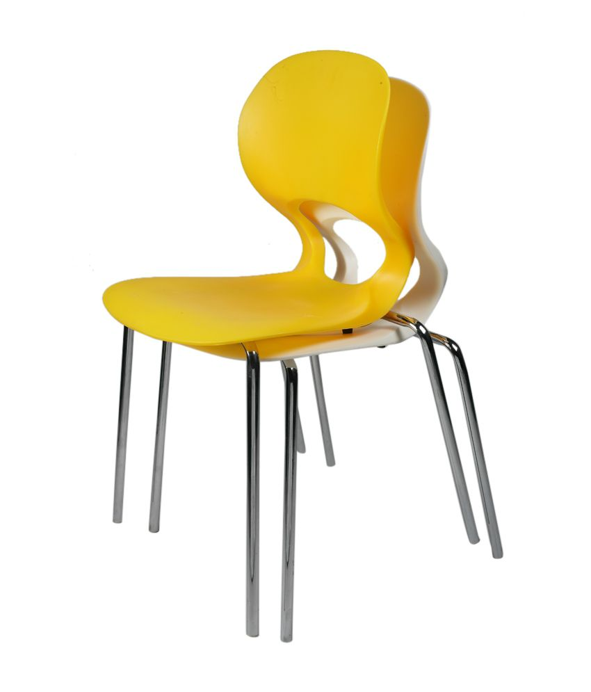 Cafeteria Chair In Yellow Buy Cafeteria Chair In Yellow Online At