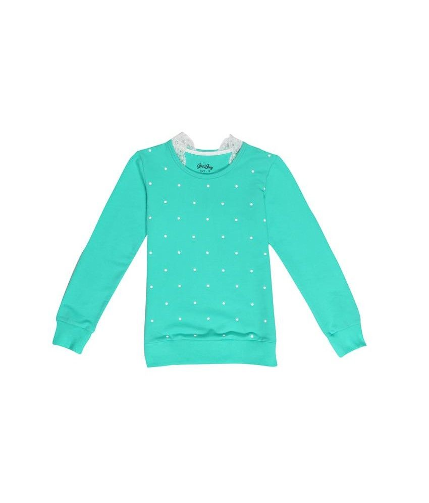 Gini & Jony Green Sweat Shirt