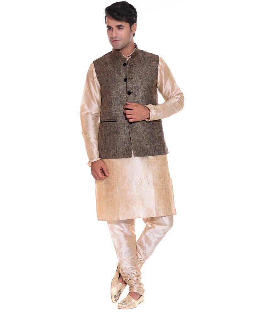 Gray Semi-formal Nehru Jackets
