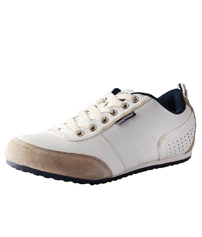 numero uno white casual shoes